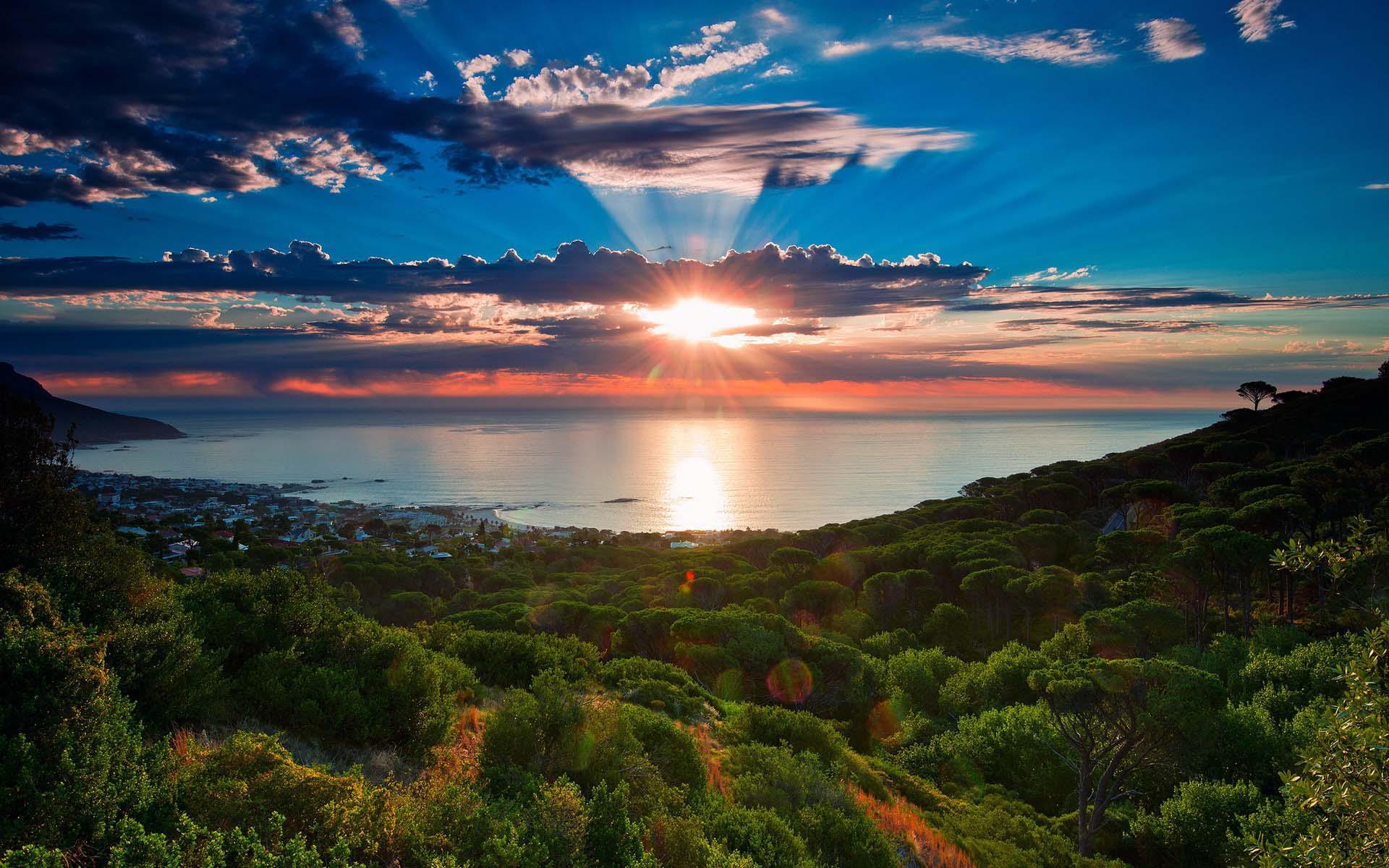 Sfondi desktop tramonti for Sfondi pc 4k